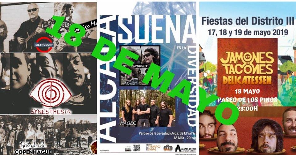 Fiestas del distrito III en Alcalá de Henares