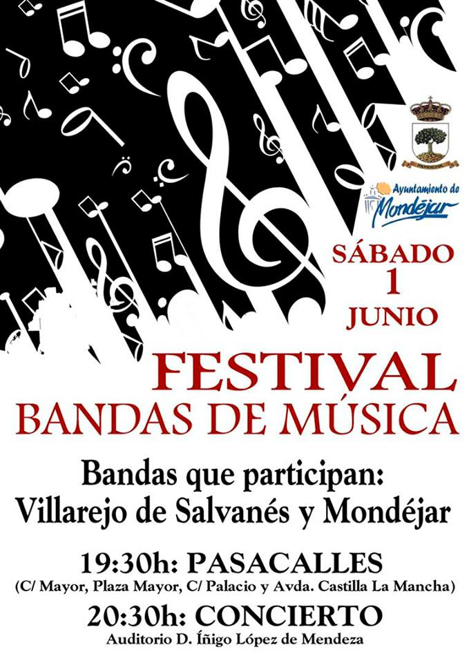 Festival Bandas de Música en Mondejar