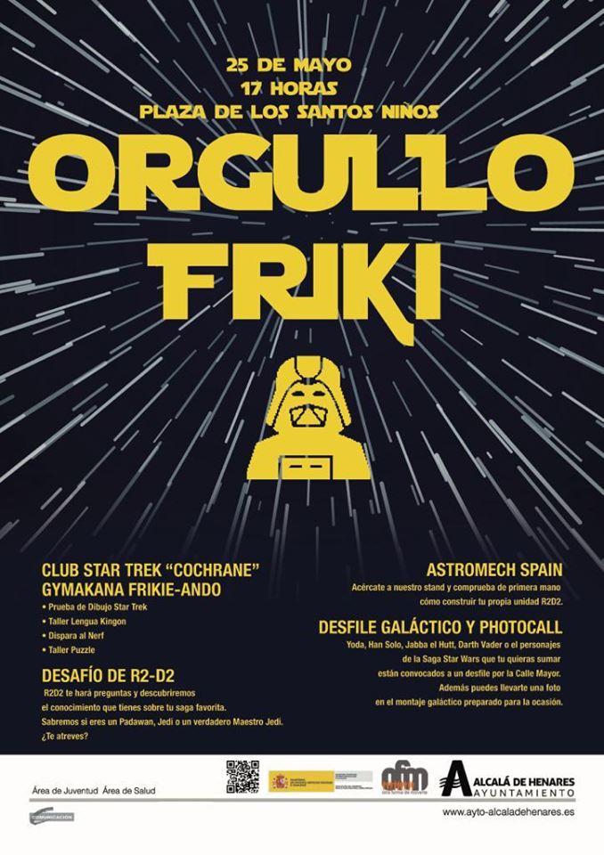 Orgullo Friki – Alcalá de henares