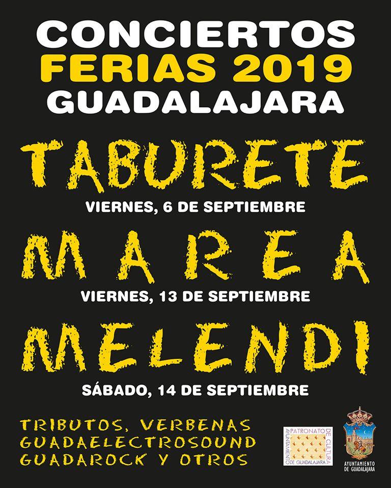 Conciertos para las Ferias de Guadalajara 2019