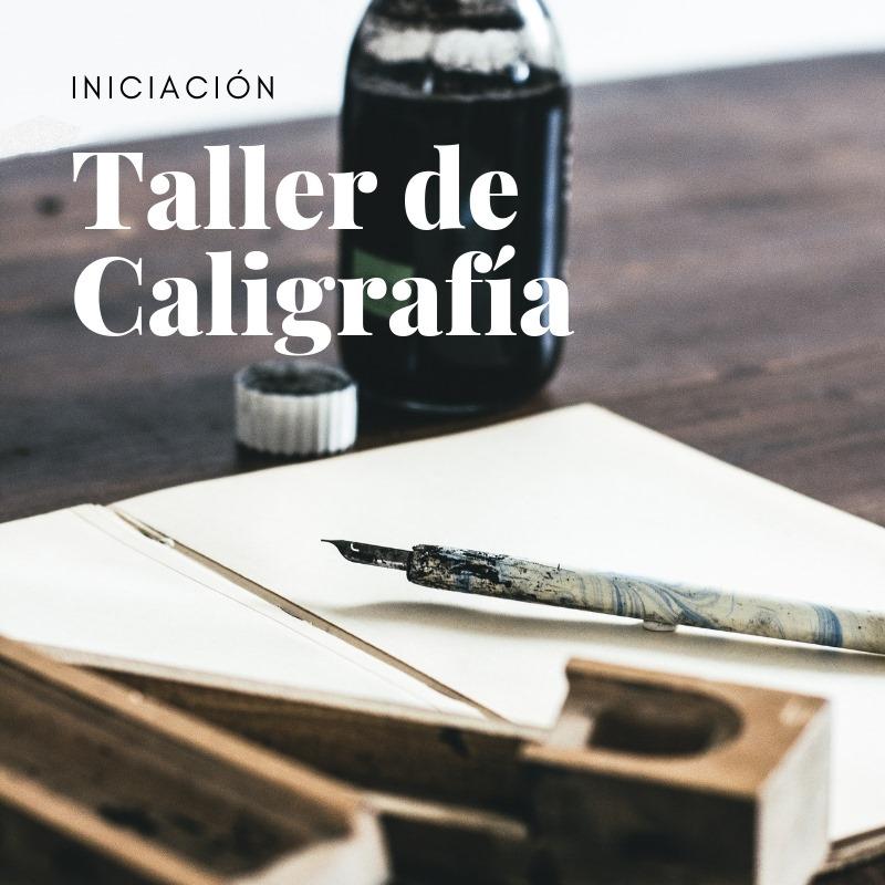 Taller de caligrafía con plumilla – Iniciación