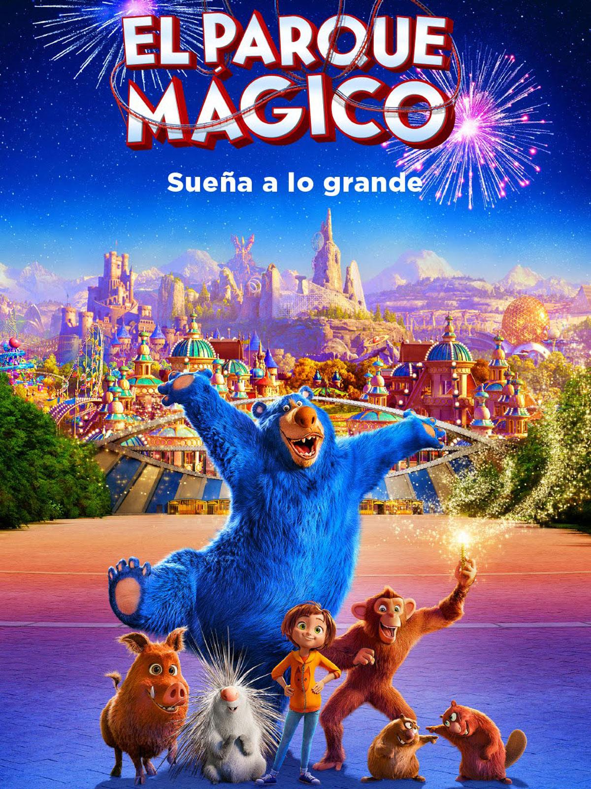 EL PARQUE MÁGICO Sala de Cine del EJE