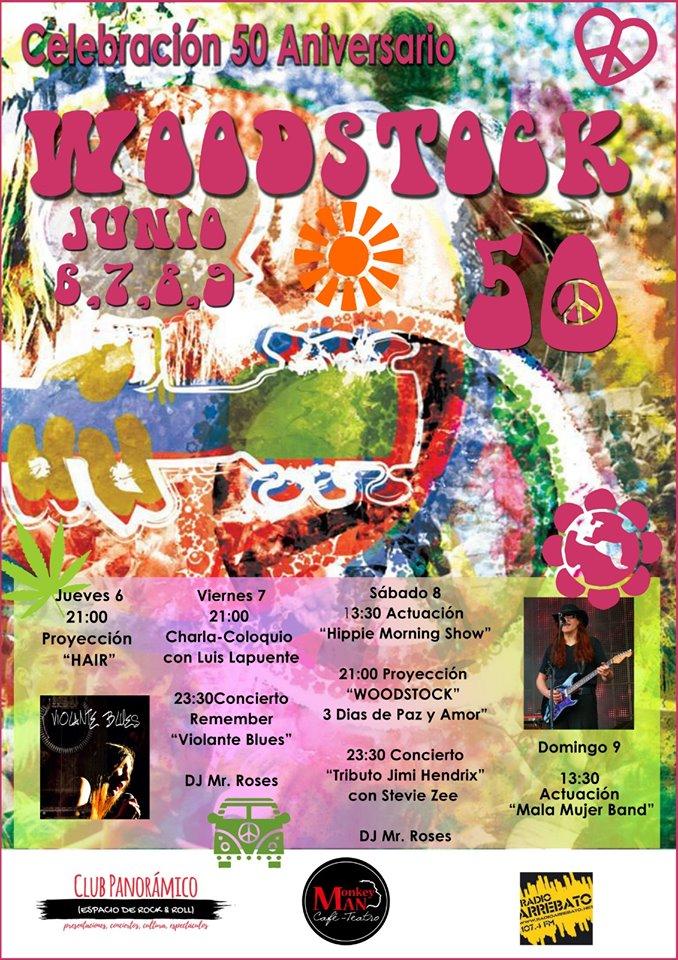 Festival Woodstock Celebración 50 Aniversario