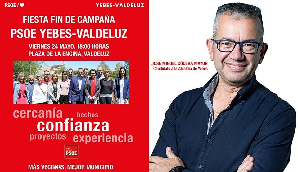 Fiesta Fin Campaña PSOE Yebes