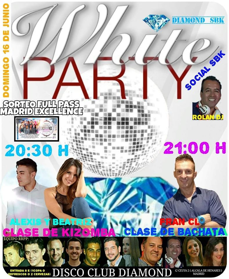 DIAMOND White Dance Party