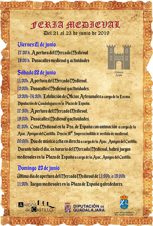 Feria Medieval 2019 Molina de Aragón