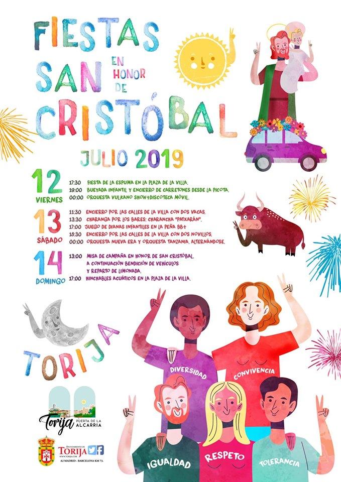 Fiestas en honor a San Cristobal en Torija
