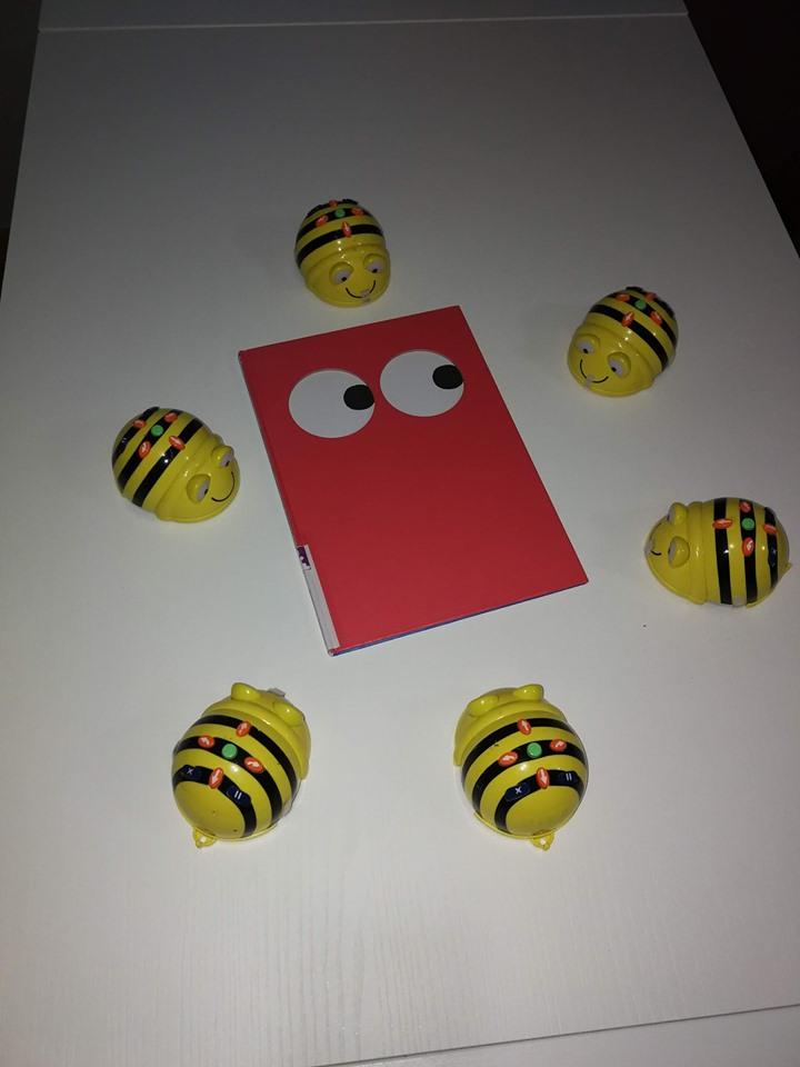 Taller gratuito Leemos con Beebots