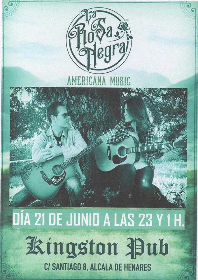 Americana Music Con: La Rosa Negra