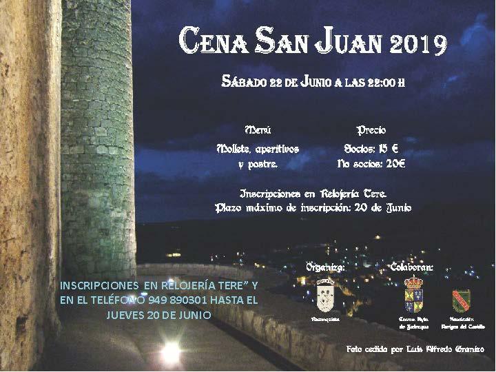 Cena Medieval y Hogueras de San Juan
