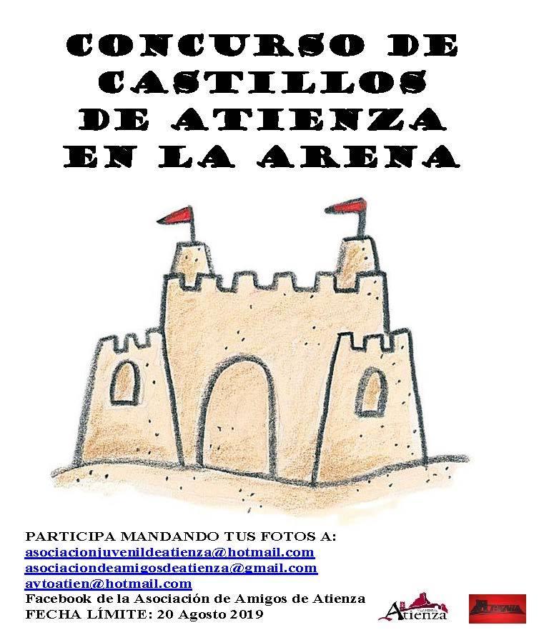 Concurso de castillos de Atienza en la arena