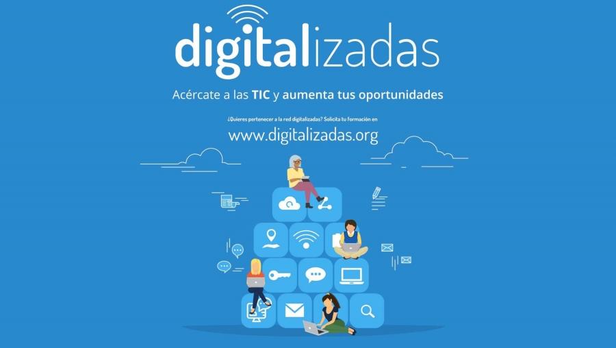 Talleres de formación digital para mujeres