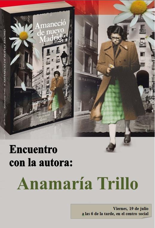 Encuentro con la autora Anamaría Trillo