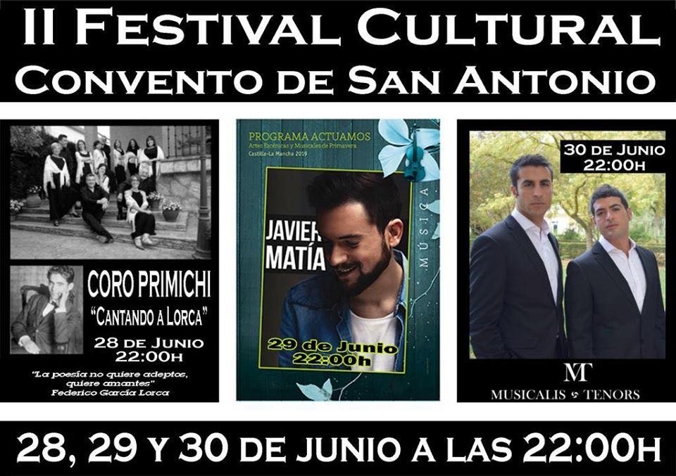 II Festival cultural en Mondejar