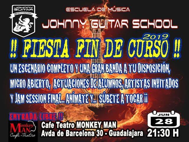 Fiesta Fin de Curso de la escuela de música Johnny Guitar