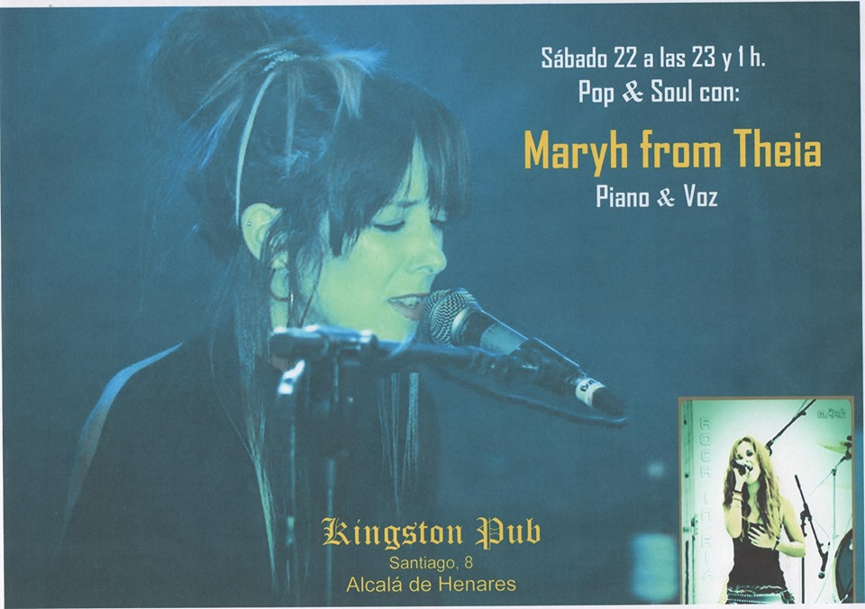 Pop & Soul con: Maryh from Theia