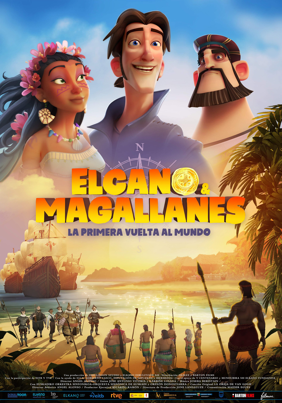 ELCANO Y MAGALLANES, LA PRIMERA VUELTA AL MUNDO Sala de Cine del EJE
