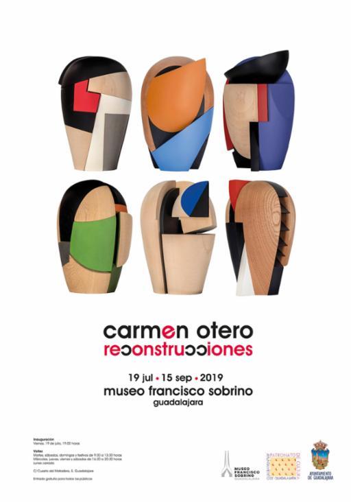 Exposición de Carmen Otero: Reconstrucciones