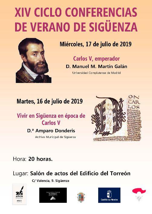 XIV Ciclo de Conferencias de Archivo en Sigüenza