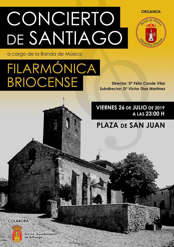 Concierto de Santiago en Brihuega