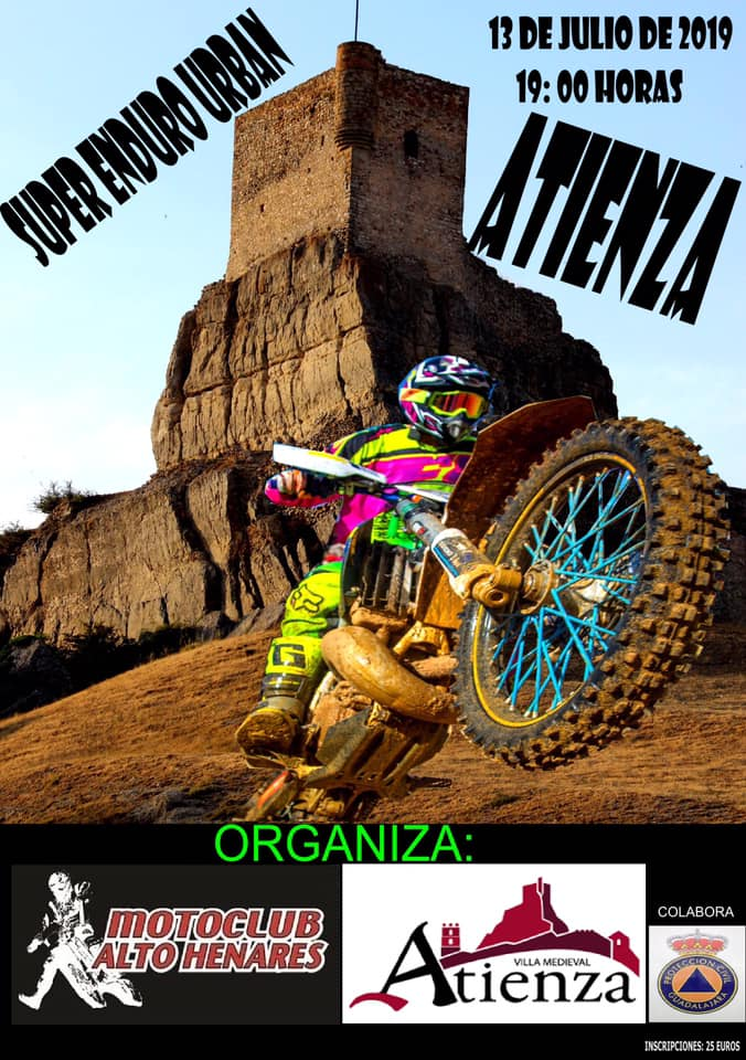 Super Enduro Urban en Atienza