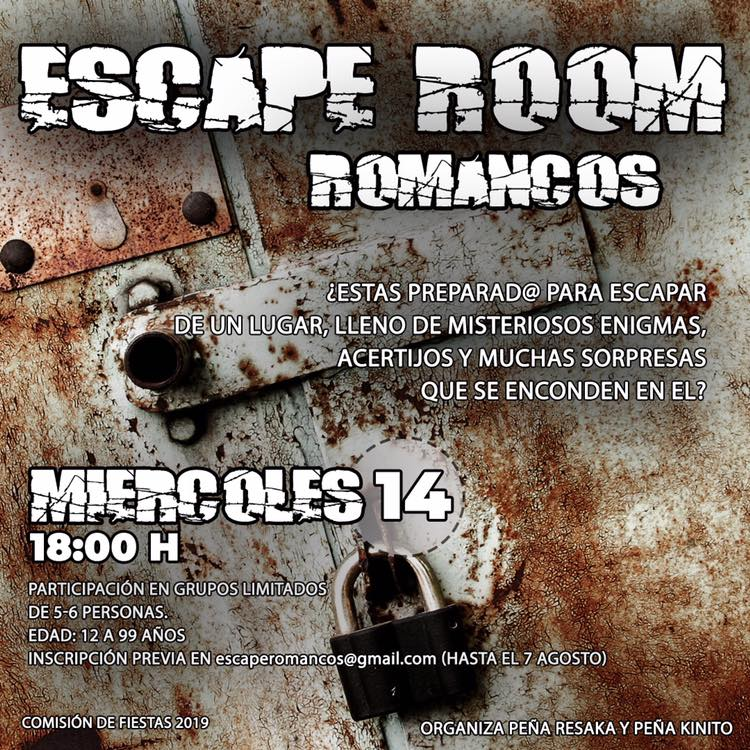 Escape Room en Romancos