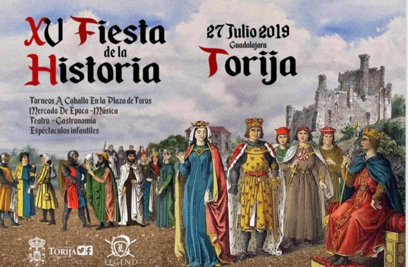XV Fiesta de la historia en Torija
