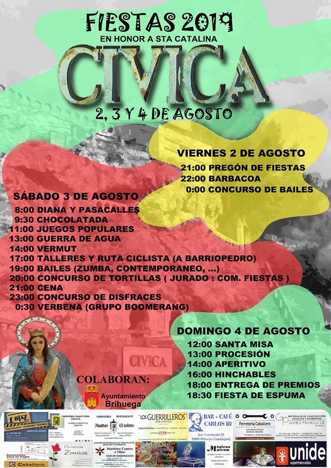 Fiestas 2019 en Cívica