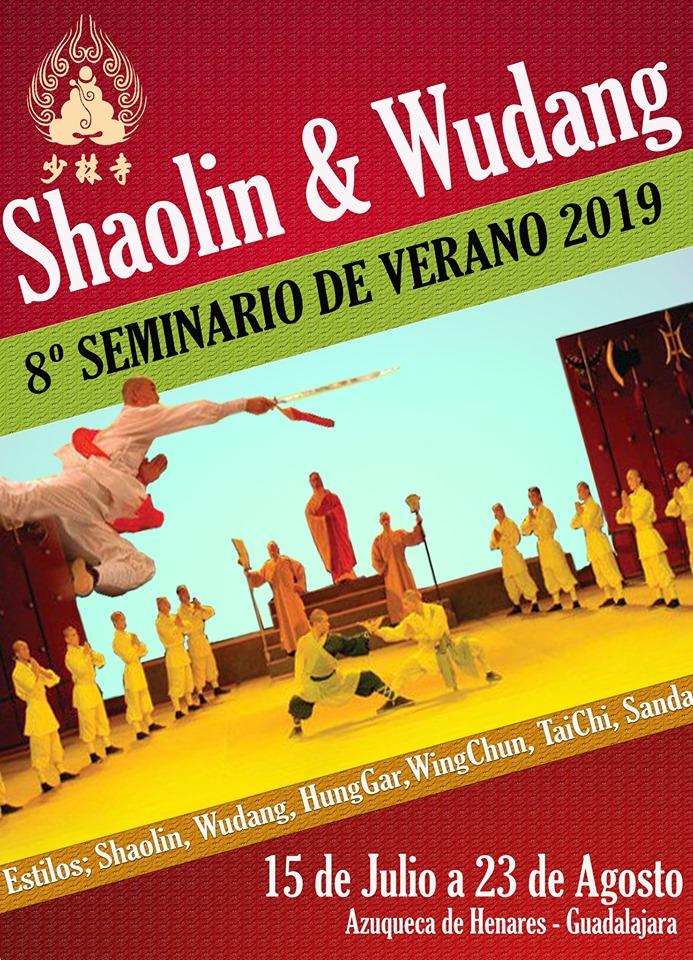 Seminario de Verano Kung-Fu 2019.