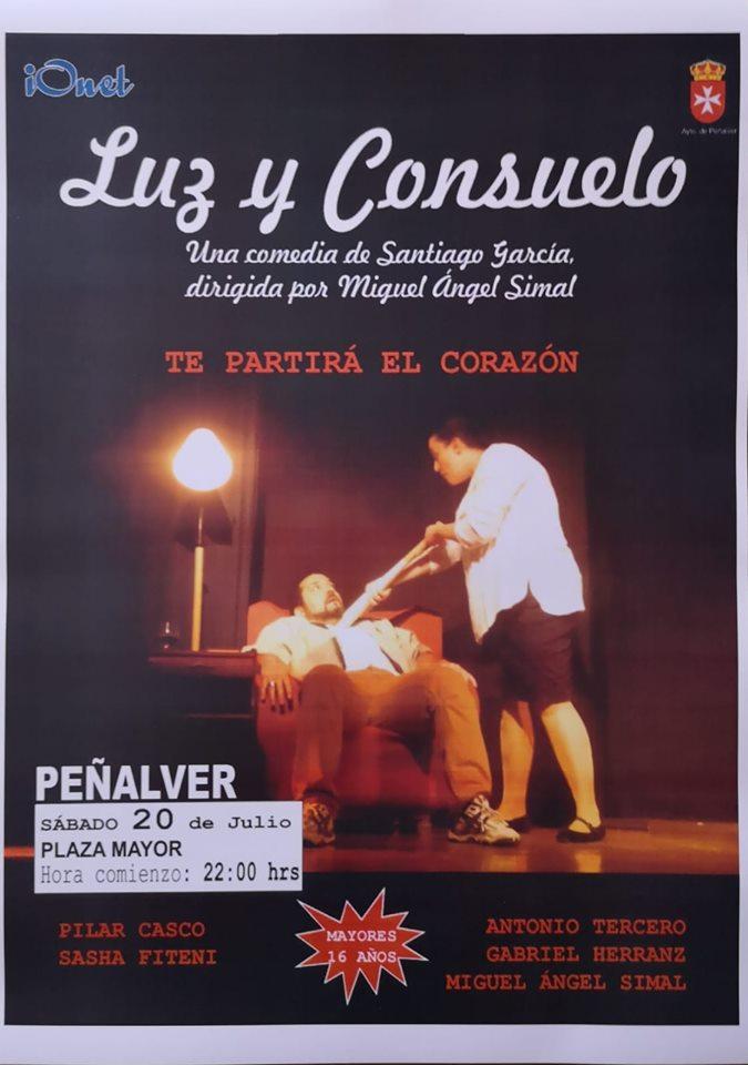 «Luz y Consuelo», teatro en Peñalver