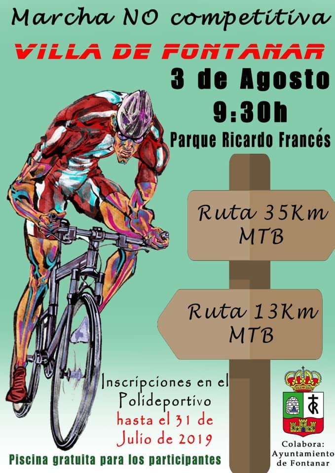 Marcha cicloturista Fontanar 2019