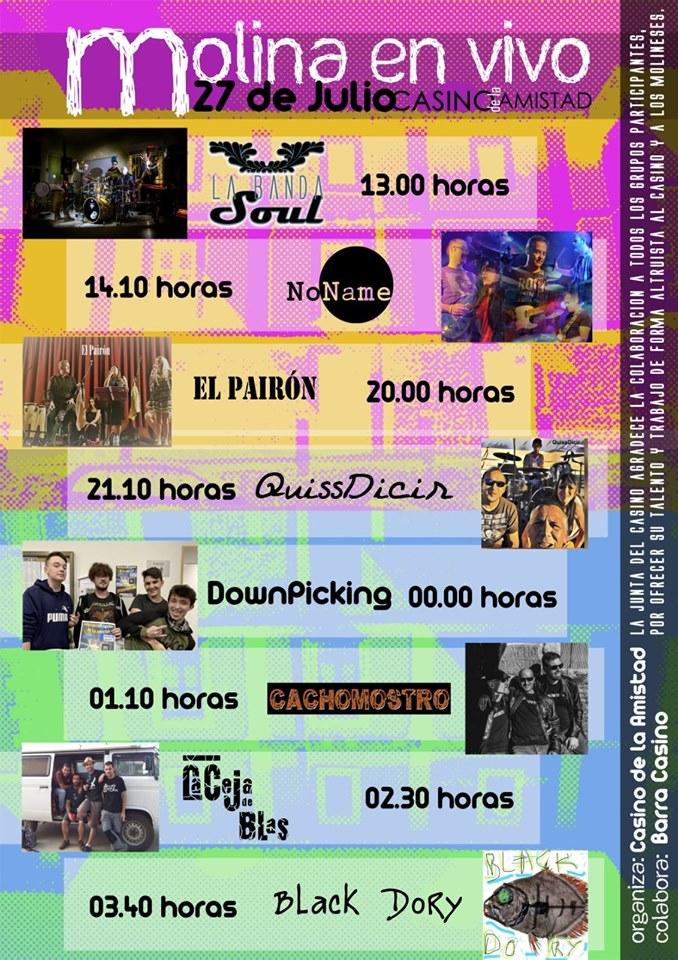 Festival MOLINA EN VIVO!