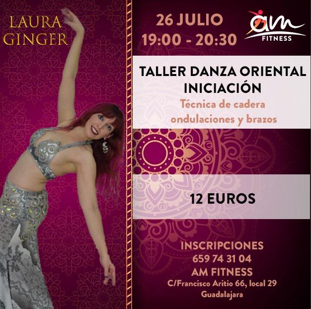 Taller Danza Oriental Iniciación con Laura Ginger