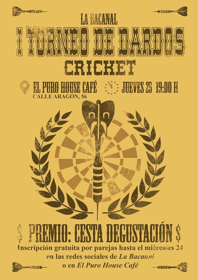 I Torneo de dardos «La Bacanal»