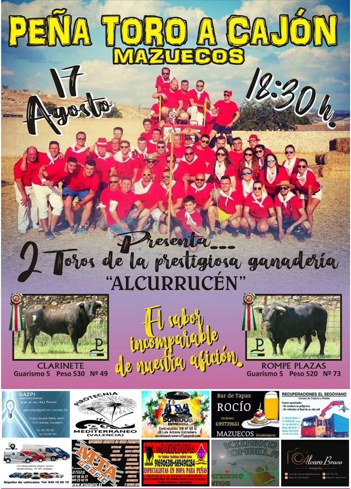 Toros de «Alcurrucen» en Mazuecos