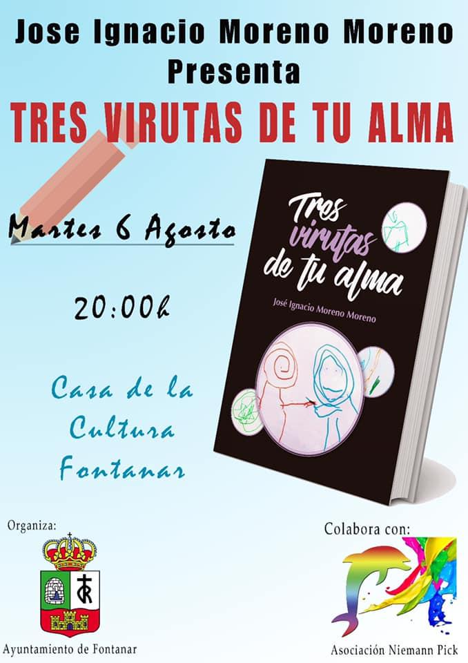 Presentación del libro «Tres virutas de tu alma»