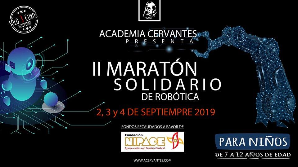 II Maratón solidario de Robótica a favor de Nipace