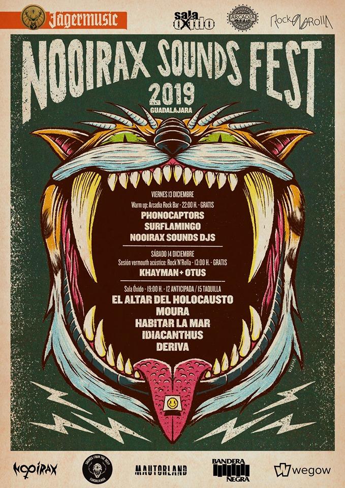 Nooirax Sounds Fest 2019 Sala Oxido