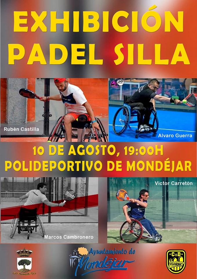Exhibición de Padel Silla en Mondejar