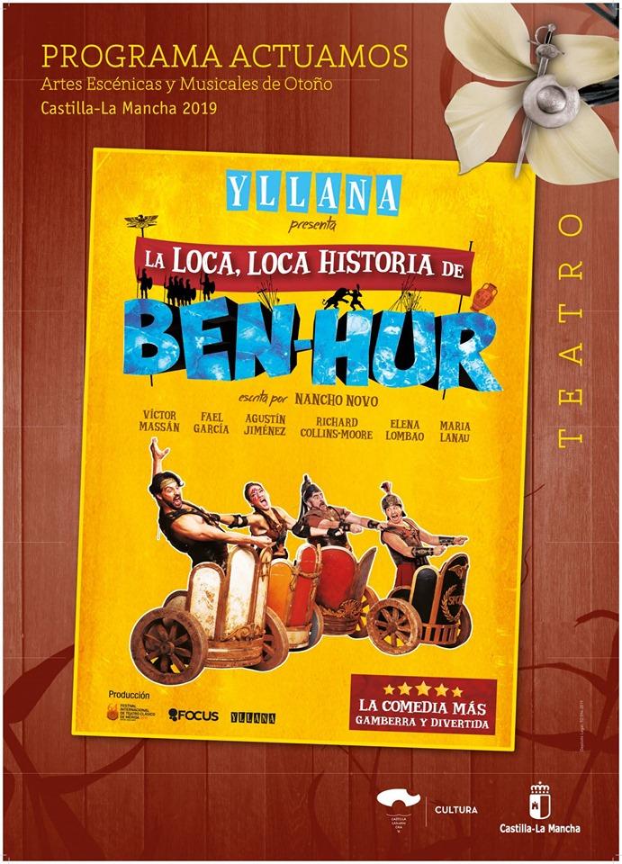 Teatro en Guadalajara: Ben Hur