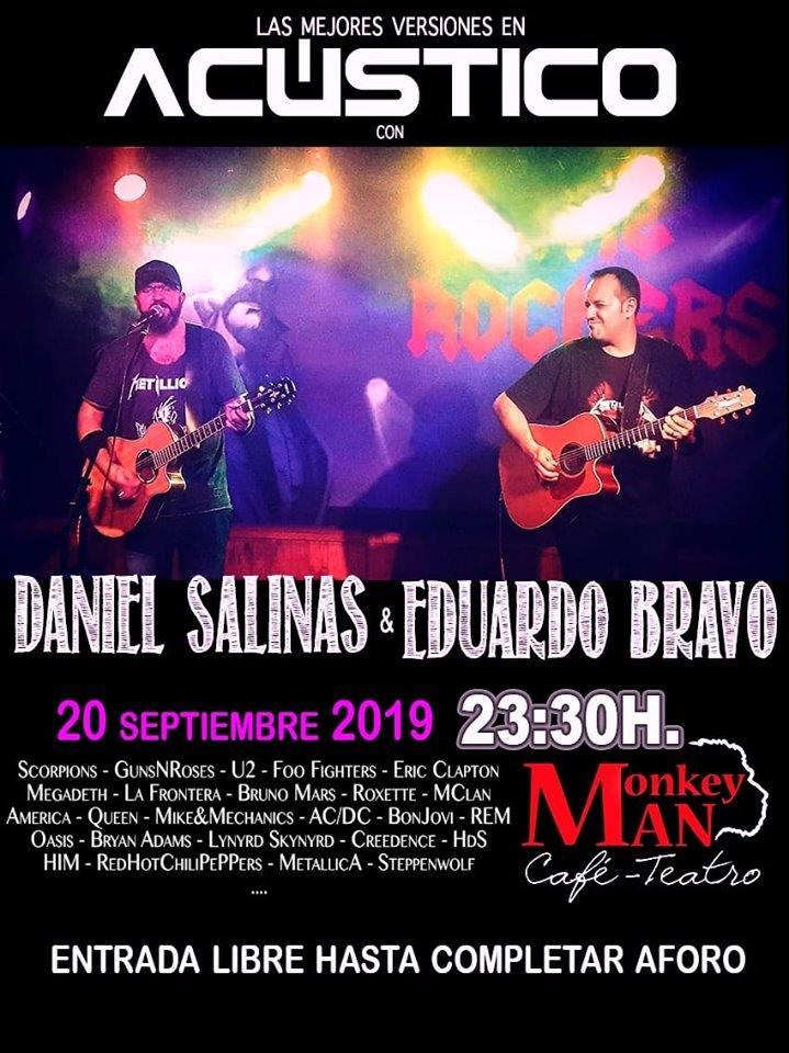 Concierto Daniel Salinas & Eduardo Bravo