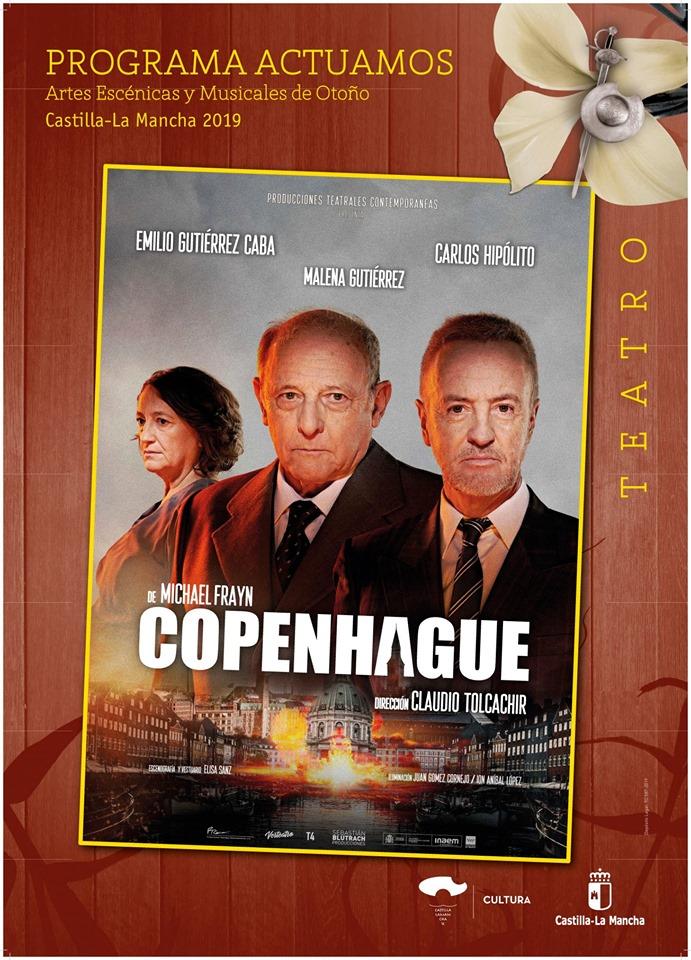 Teatro en Guadalajara: Copenhague