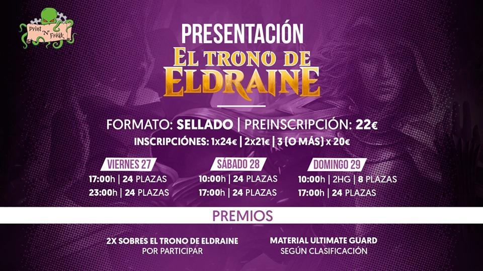 Presentación «El trono de Eldraine»