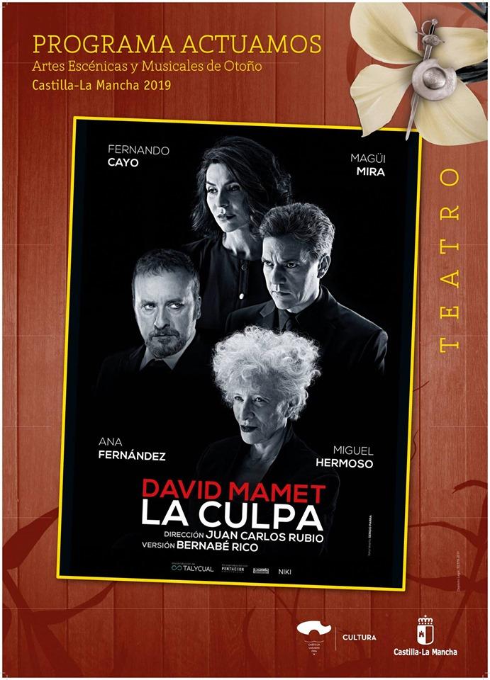 Teatro en Guadalajara: Pentación-La culpa