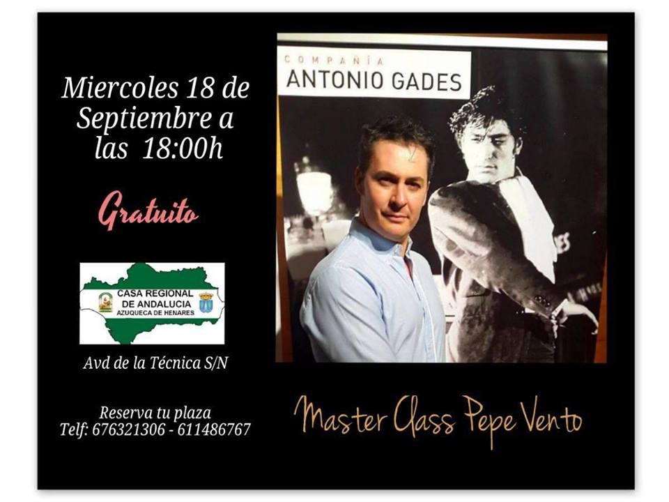 Master class con Pepe Vento
