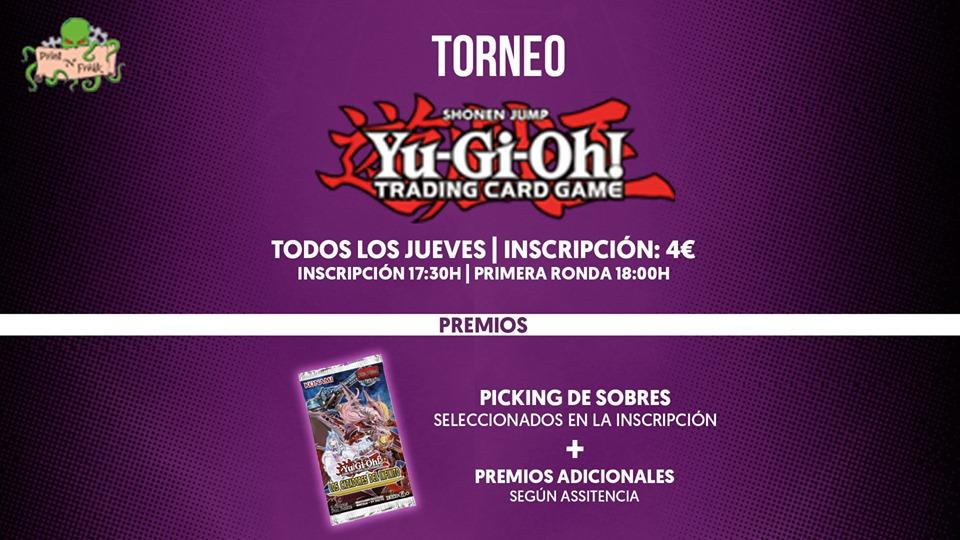 Torneo de YuGiOh Jueves