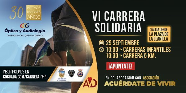 VI Carrera Solidaria Central Óptica