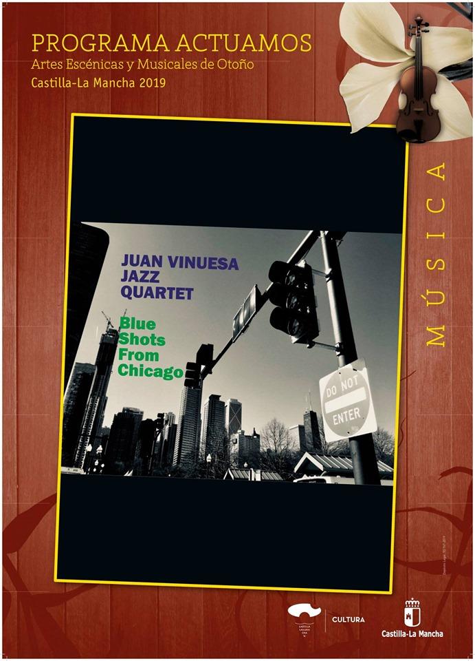 Música en Guadalajara: Juan Vinuesa Jazz Quartet