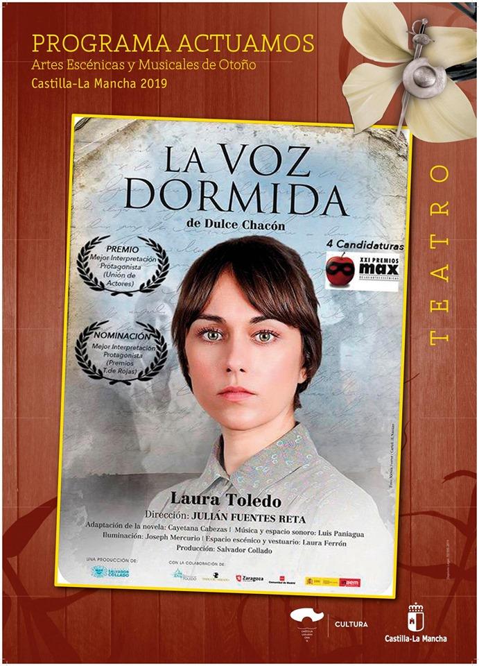 Teatro en Azuqueca de Henares: «La voz dormida»