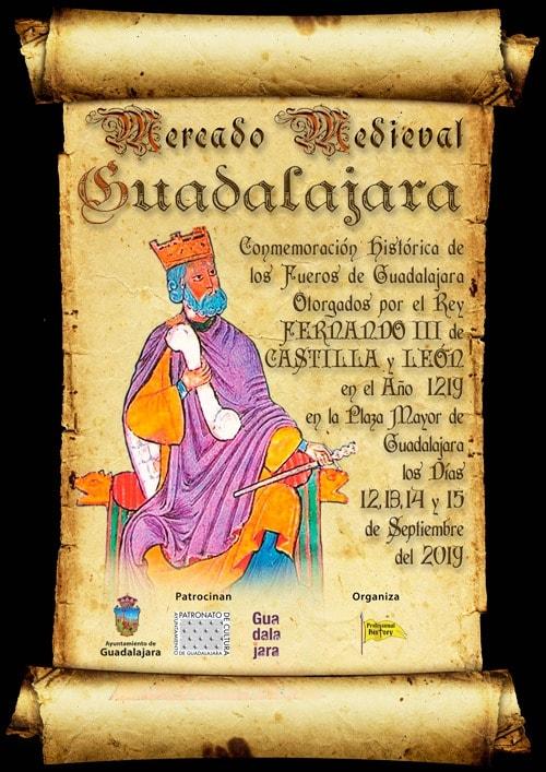 mercado medieval guadalajara